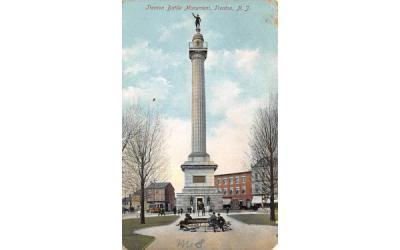 Trenton Battle Monument New Jersey Postcard