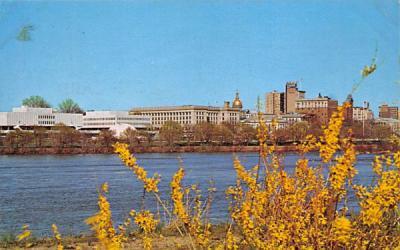 Trenton Skyline New Jersey Postcard