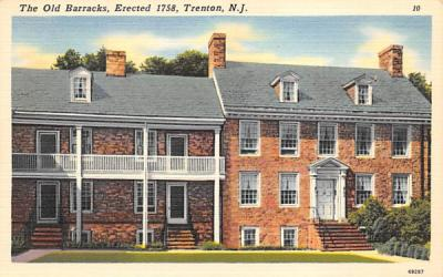 The Old Barracks Trenton, New Jersey Postcard
