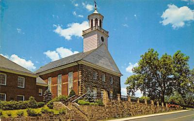 Connecticut Farms Church Tri State Rock, New Jersey Postcard