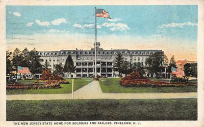 The New Jersey State Home for Soldiers and Sailors Postcard