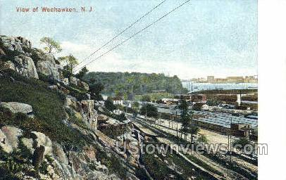 Weehawken, New Jersey, NJ Postcard