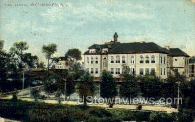 High School  - Weehawken, New Jersey NJ Postcard