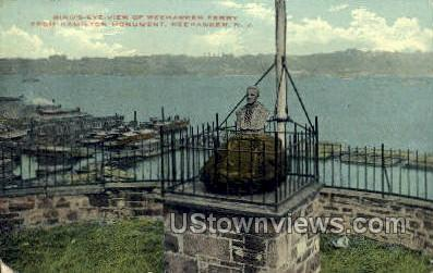Ferry  - Weehawken, New Jersey NJ Postcard