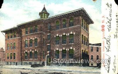 Public School  - Weehawken, New Jersey NJ Postcard