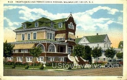 23 And Penn Avenues - Wildwood-by-the Sea, New Jersey NJ Postcard