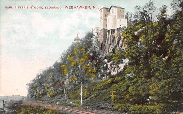 Karl Bitter's Studio, Eldorado Weehawken, New Jersey Postcard