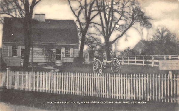 McKonkey Ferry House Washington Crossing State Park, New Jersey Postcard
