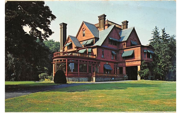 Edison National Historic Site West Orange, New Jersey Postcard
