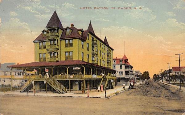 Hotel Dayton Wildwood, New Jersey Postcard