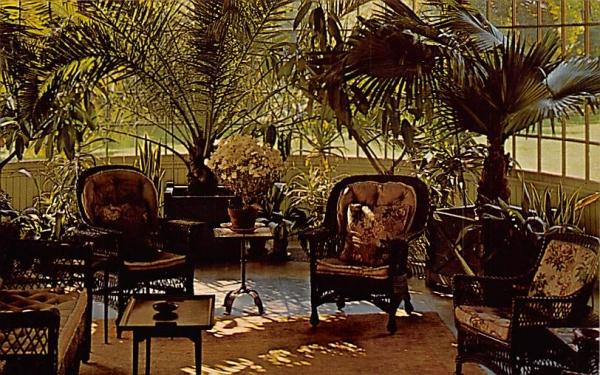 conservatory at Glenmont West Orange, New Jersey Postcard
