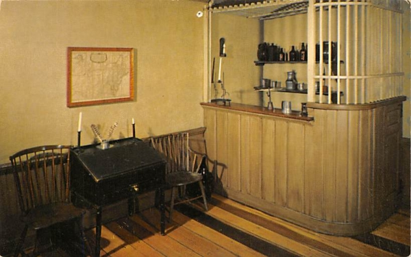 Tap Room - McKonkey Ferry House Washington Crossing State Park, New Jersey Postcard