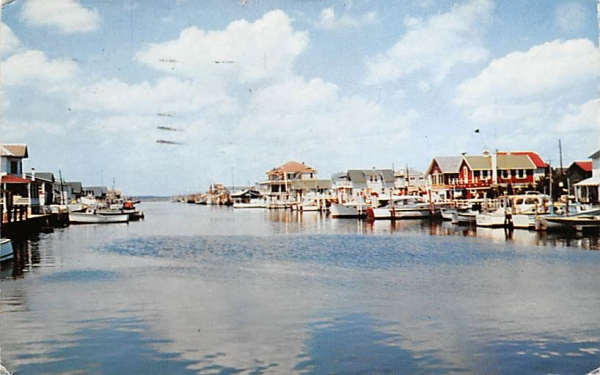 Ottens Harbor Wildwood , New Jersey Postcard