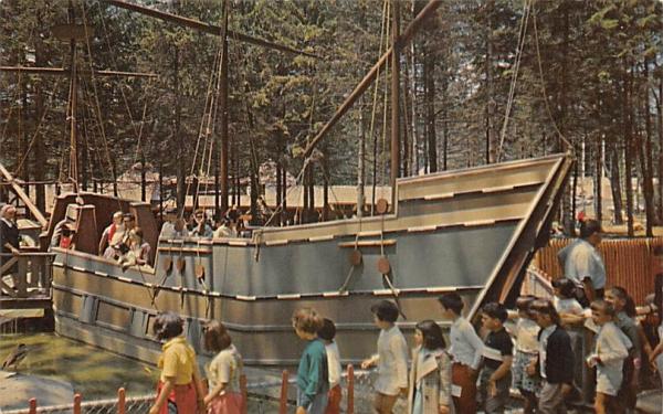 Mayflower Turtle Back Zoo West Orange, New Jersey Postcard