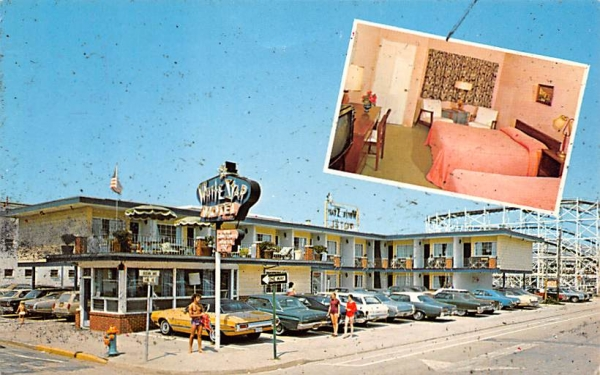 White Star Motel Wildwood , New Jersey Postcard