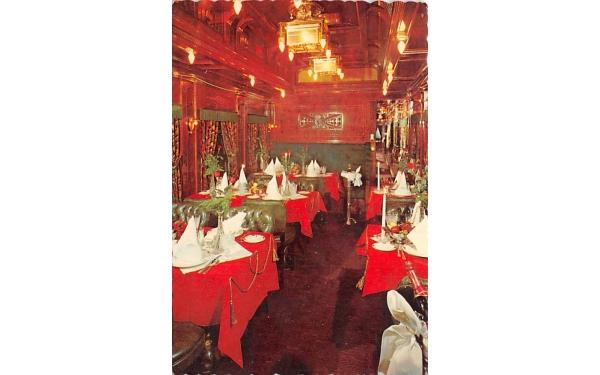 Wine and Dine Aboard  West Orange, New Jersey Postcard