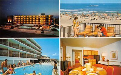 The Ocean Holiday Motor Inn Wildwood Crest , New Jersey Postcard