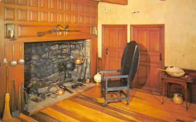 Kitchen Fireplace - Mckonkey Ferry House Washington Crossing State Park, New Jersey Postcard