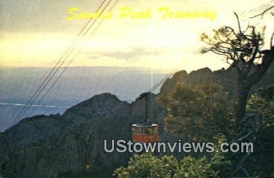 Sandia Peak Tramway - Albuquerque, New Mexico NM Postcard