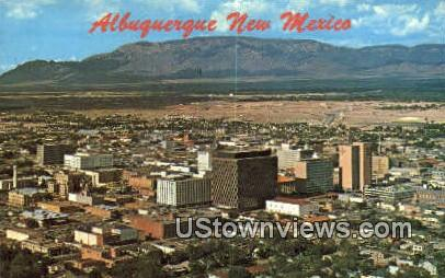 Albuquerque, New Mexico     ;     Albuquerque, NM Postcard