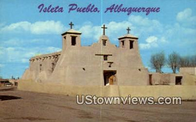 Isleta Pueblo - Albuquerque, New Mexico NM Postcard
