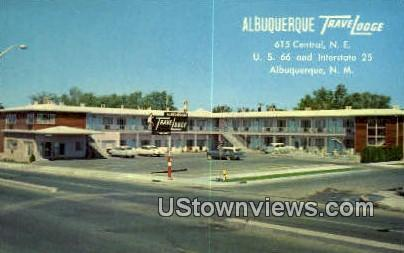 Albuquerque Travelodge - New Mexico NM Postcard