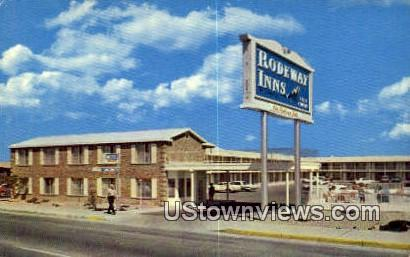 Rodeway Inn Motel - Albuquerque, New Mexico NM Postcard