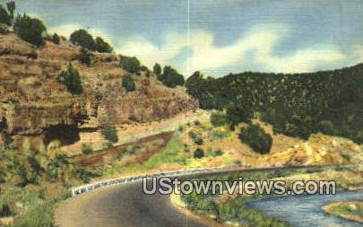 Cedro Canyon - Albuquerque, New Mexico NM Postcard
