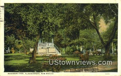 Robinson Park - Albuquerque, New Mexico NM Postcard