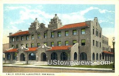 YMCA Bldg - Albuquerque, New Mexico NM Postcard