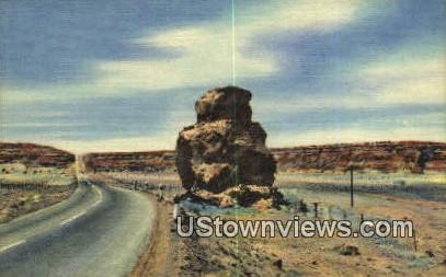 Owl Rock - Albuquerque, New Mexico NM Postcard
