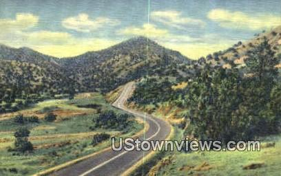 Sandia Mountains - Albuquerque, New Mexico NM Postcard