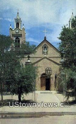 Church of San Felipe De Neri - Albuquerque, New Mexico NM Postcard