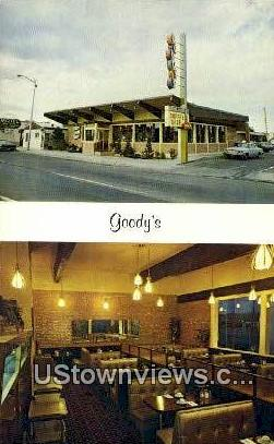Goody's Restaurant - Albuquerque, New Mexico NM Postcard