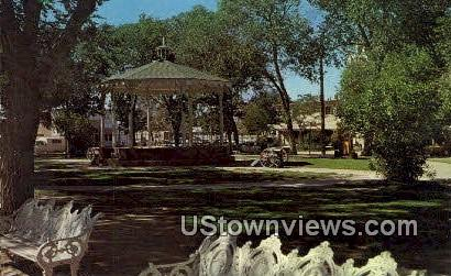 Bandstand, Old Town Plaza - Albuquerque, New Mexico NM Postcard