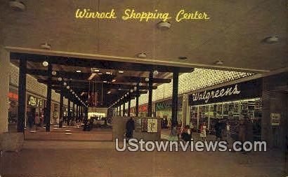 Winrock Shopping Center - Albuquerque, New Mexico NM Postcard