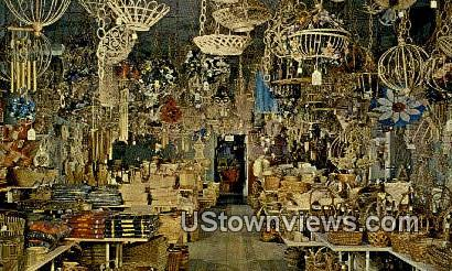 Old Town Basket Shop - Albuquerque, New Mexico NM Postcard