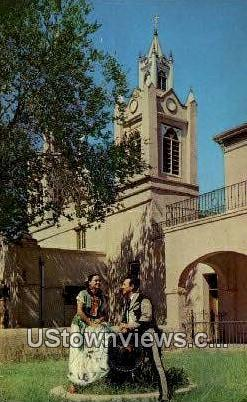 San Felipe Church - Albuquerque, New Mexico NM Postcard