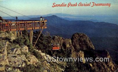 Sandia Peak Aerial Tramway - Albuquerque, New Mexico NM Postcard