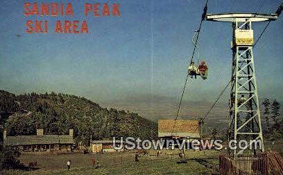 Sandia Peak Ski Area - Albuquerque, New Mexico NM Postcard