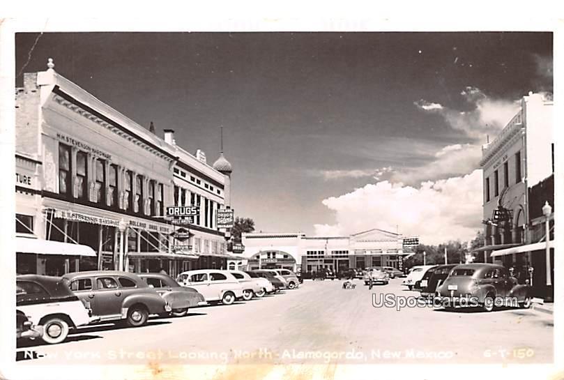 New York Street - Alamogordo, New Mexico NM Postcard