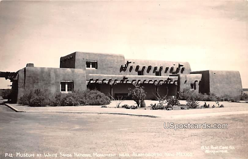 Museum at White Sands National Monument - Alamogordo, New Mexico NM Postcard