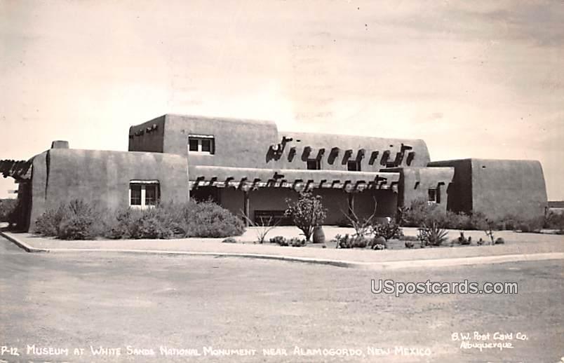 Museum - Alamogordo, New Mexico NM Postcard