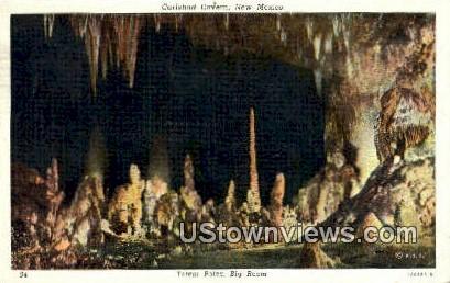 Totem Pole - Carlsbad Caverns, New Mexico NM Postcard
