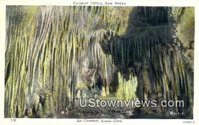 Ice Chamber - Carlsbad Caverns, New Mexico NM Postcard