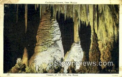 Temple of the Sun - Carlsbad Caverns, New Mexico NM Postcard