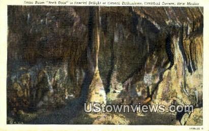 Dome Room, Back Door - Carlsbad Caverns, New Mexico NM Postcard