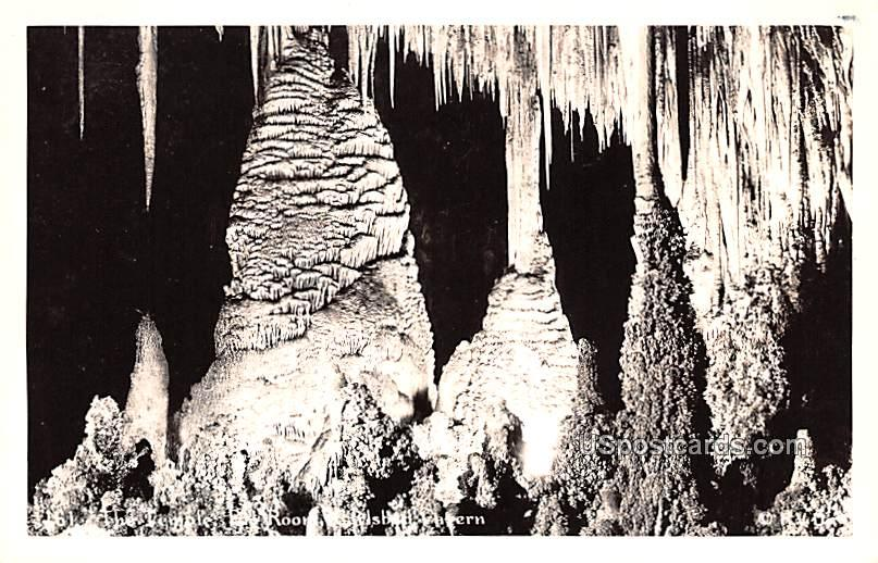 The Temple - Carlsbad Caverns, New Mexico NM Postcard