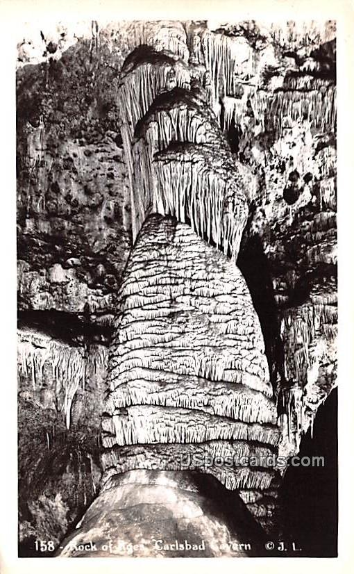 Rock of the Ages - Carlsbad Caverns, New Mexico NM Postcard