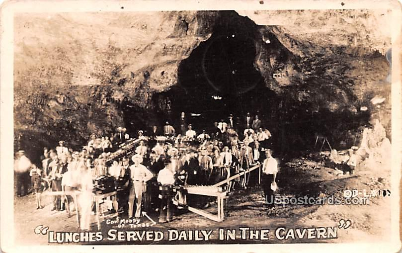 Lunches Served Daily in the Cavern - Carlsbad Caverns, New Mexico NM Postcard